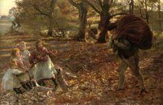 John Henry Lorimer (1856 – 1936, Scottish) Autumn
