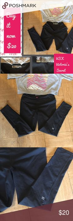 """Great Victoria's Secret Large Black Pants & top Great Black VSX large black pants with a very worn large but soft VS Pink top.   Love ❤️ both of them but are not my size. Buy it now $20.  Thanks. From a smoke free and pet free home.   """"Offers Welcomed."""" 😊❤️💕💕 PINK Victoria's Secret Pants Track Pants & Joggers"""