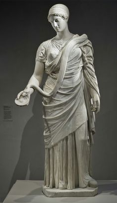 The Hope Hygieia. Marble. Roman. 2nd-century copy, c. 130–161, after a Greek original of c. 360 B.C. | Los Angeles County Museum of Art