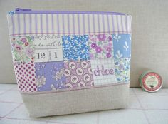 Sew Sweet Violet: A Pouch for Chloe .....