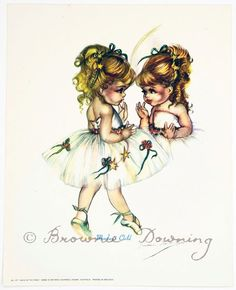 Print - ballet 5 - Brownie Downing | Artist Illustrator | Official Site