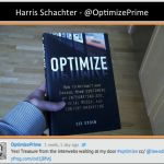 Harris Schachter @optimizePrime shared this smart photo of Optimize in the wild.