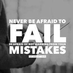 Keep learning no matter what you're doing it how old you get! Learn From Your Mistakes, Lifestyle Changes, Happy Friday, Dream Big, Fails, Old Things, Motivation, Learning, Instagram Posts