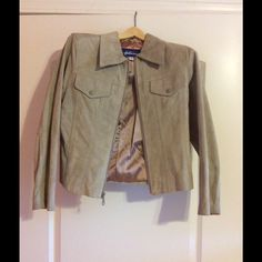Faux Suede Jacket Slightly used. Coming from a Non Smoking Household Jackets & Coats