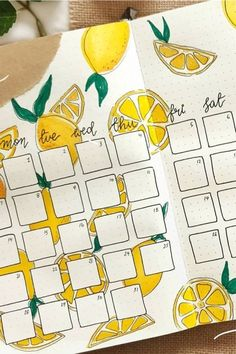 Check out the 25 best lemon themed BULLET JOURNAL spreads and layouts for inspiration #bujo #bulletjournal #bujotheme #bujoideas