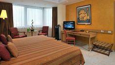 El hotel Meliá Cohíba se beneficia de una hermosa vista al mar gracias a la vecindad con la popular avenida del Malecón. La instalación disfruta de una privilegiada localización en la zona residencial de El Vedado, donde se concentran los principales establecimientos vinculados a la vida cultural de la ciudad.