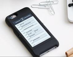 E-Ink-Zusatzbildschirm für iPhone 6 vorgestellt | ZDNet.de