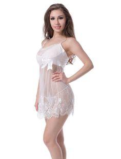 c0185030be TRENTON Sexy Lace Lingerie Dress Nightwear Underwear Babydoll Sleepwear  G-String - XXL. Type  Sleepwear + G-string. Package Includes  1 x Sleepwear  Lingerie ...