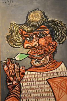 Picasso Man, With A Lollipop, 1938( I just don't understand who would pay for something like this?)