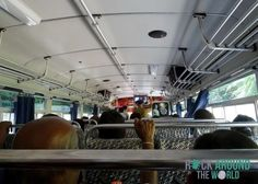 Bus nach Galle, Sri Lanka