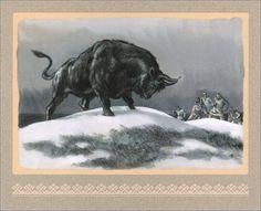 Kalevala. Illustrator Nikolai Kochergin. - Book Graphics