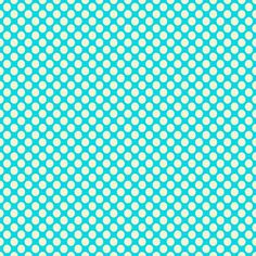 Free Digital Scrapbook Paper - Aqua and cream polka dots Free Digital Scrapbooking, Digital Scrapbook Paper, Digital Stamps, Digital Papers, Decoupage, Patterned Sheets, Pottery Barn Teen, Printable Paper, Fabric Paper