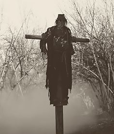 The godawful scarecrow from season 1 episode 11, that still gives me the willies to this day!!!