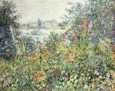 Flowers at Vetheuil; Fleurs a Vetheuil, 1881 (oil on canvas), Monet, Claude (1840-1926)