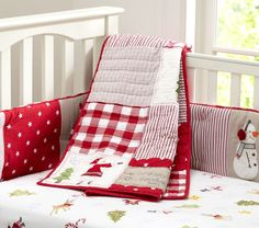 Potterybarn Kids - Christmas Nursery Bedding. Oh if you know how much I love Christmas omg