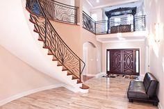 custom residential ornament railing