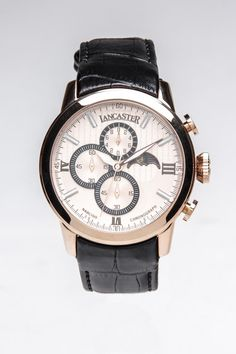 Lancaster Narciso Moonphase Display Oversized Watch