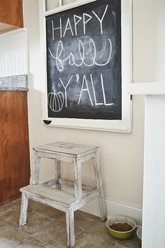 Ikea Hack: Bekvam stepstool makeover - easy makeover & this stool is less than $20 from Ikea!! - lizmarieblog.com Stool Makeover, Furniture Makeover, Bekvam, Tea Trolley, Minwax Stain, Wooden Steps, My Kind Of Love, Milk Paint, Furniture Inspiration