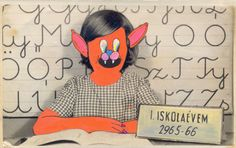 My first school year by Julia Farkas, via Behance