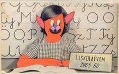 My first school year by Julia Farkas, via Behance