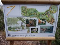 San Diego Zoo Safari Park Tiger Trail (Version 2.1) San Diego Zoo, Safari, Trail, Signs, Park, Shop Signs, Sign, Parks, Signage