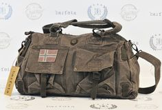 "Weekendbag ""Love Norway"" from Barfota by Pia! Look out for new collection soon! :)"