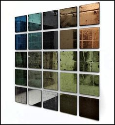 #interiordesign - antique mirror glass for contemporary living ~ the modern sybarite - advice on interiors, art and design http://www.themodernsybarite.com/2013/03/antique-mirror-glass-for-contemporary.html