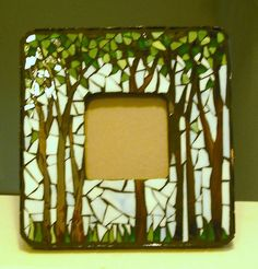 Nature Trees by Mosaics by Marlene, via Flickr