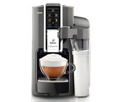 Die #Cafissimo LATTE ist da! Sie macht perfekten Milchschaum auf Knopfdruck für leckere Kaffeemilchspezialitäten. Gibts für €199,00 bei #Tchibo