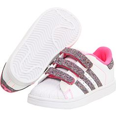 adidas Kids - Superstar 2 Sparkles CMF (Toddler/Youth)