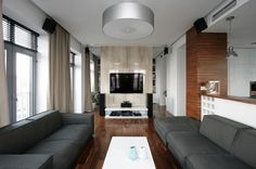 modern apartment by SVOYA studio