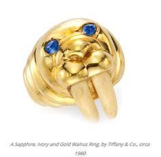 Gold Tiffany's ring