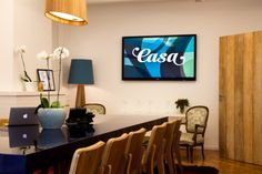 Worldwide advertising giant JWT, whose Bogata and Los Angeles offices we've seen, has an awesome space for their São Paulo-based digital and innovation hub, CASA.