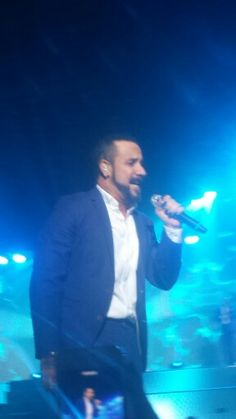 AJ meu lindo!!! Eu te I love you!!! #BackstreetBoys #IAWLT - RJ