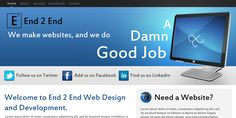 This is a great example of modern web design done properly Modern Web Design, Modern Website, Good Job, Ads