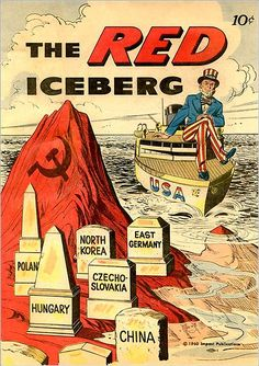 """Iceberg! Right ahead!"" (via)"
