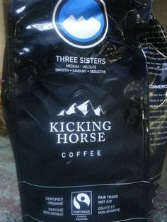 Kicking Horse Coffee was one of the first ethical produced coffees. We admire their passion for what they do and the farmers who harvest the beans.