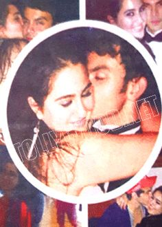bollywood hero daughter kissing with ministers grand son