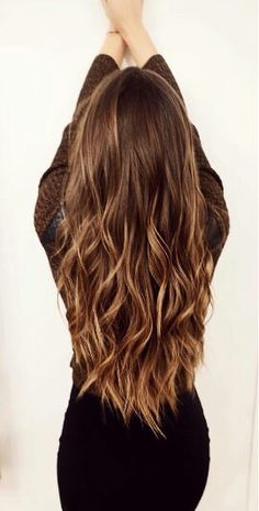 Bayalage caramel brown hair color