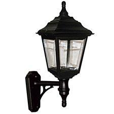 Elstead Kerry Outdoor Wall Light Lantern Black Outdoor Wall Lamps, Outdoor Walls, Porch Lighting, Outdoor Lighting, National Lighting, Costa, Exterior Wall Light, Wall Lights, Ceiling Lights