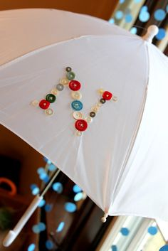 Cute as a Button Umbrellas- shower favors?