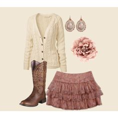 cute country style, created by rayray1014.polyvore.com