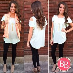 Bring the SASS with this outfit from @brandisboutiqueshop!!  #BBGirls #sassy #spring brandisboutiqueshop.co