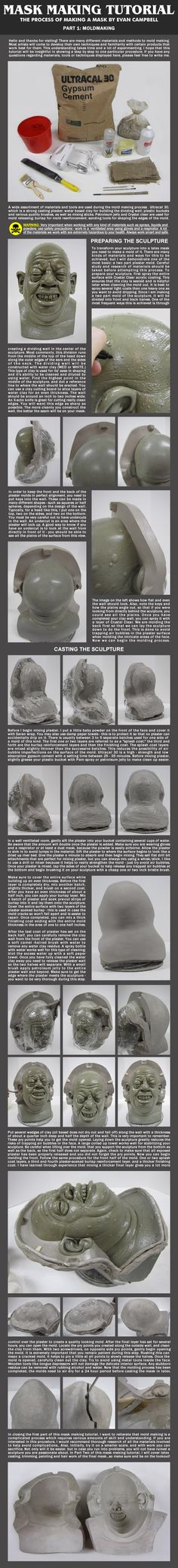 Mask Making Tutorial: Part 1 by *EvanCampbell on deviantART