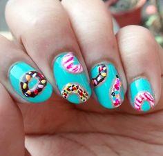 Nailpolis Museum of Nail Art   Donuts..!!! by Sohini  Sengupta