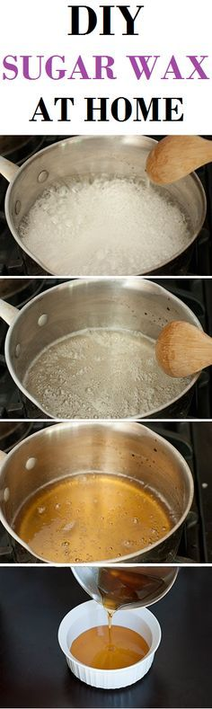 HOW ABOUT WE LOOK AT HOW TO MAKE OUR OWN SUGAR WAX AT HOME?