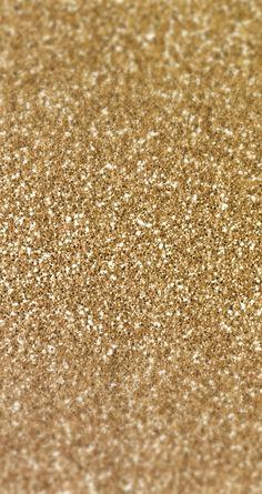 Gold glitter iPhone wallpaper