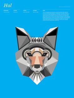 La figura abstracta servirá para el diseño