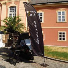 Tutto Caffè - Piaggio osedlané kávou; Dobříš