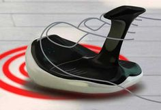 足の指で操作することに特化したマウス「Flip Flop Mouse」